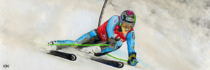 Picture for medal displey - PMAK00008 Slalom