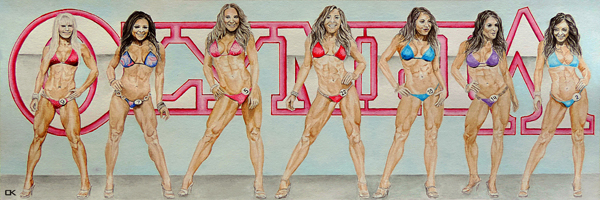Picture for medal displey - PMAK00016 Miss Olympia